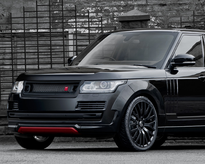Image of Kahn Design RS 600 Carbon Composite Front Lower Spoiler Land Rover Range Rover 13-14