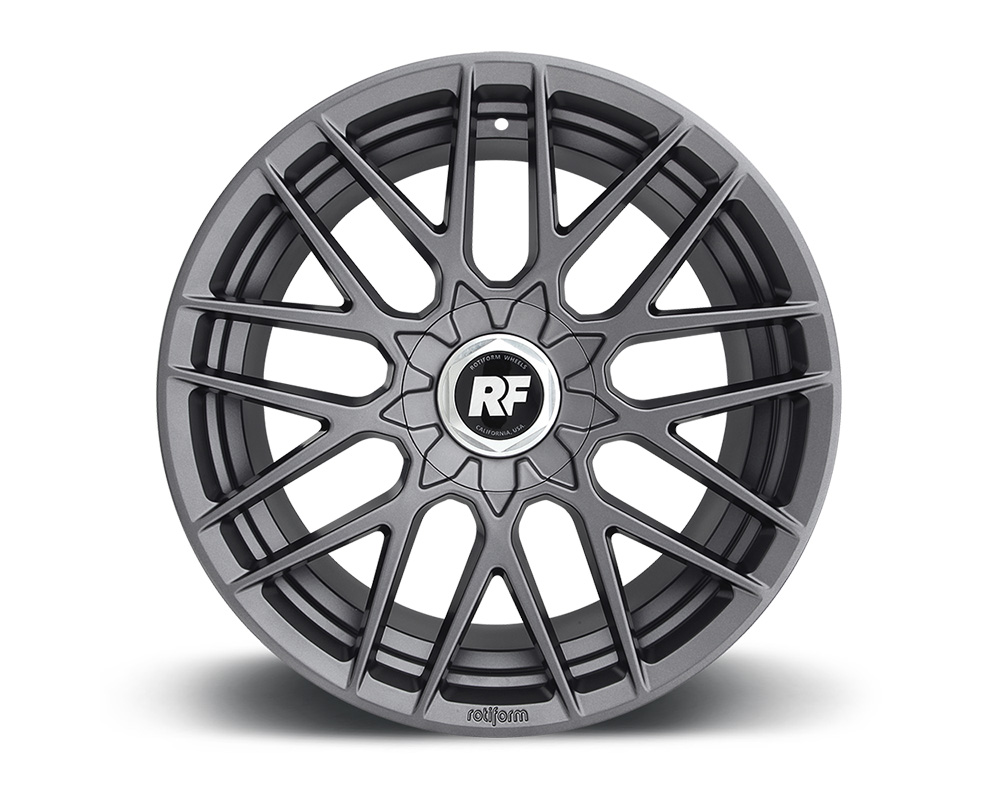 Rotiform RSE Matte Anthracite Cast Monoblock Wheel 18x9.5 5x110 25mm - R141189551+25
