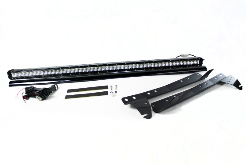 Race Sport Lighting Complete Stealth Light Bar Kit Jeep Wrangler 07-17 - RSJ074WD-SR