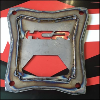 HCR Racing Bolt-on OEM HCR Back Plate Polaris RZR XP 1000 - RZR-05310-1