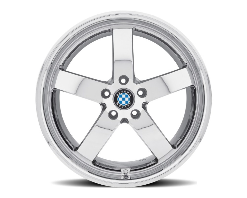 Beyern Rapp Chrome Wheel 18x9.5 5x120 45mm CB72.6 - 1895BYR455120C72