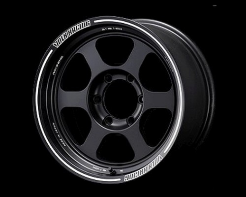 Volk Racing TE37XT Wheel 17x7.5 5x127 35mm Blast Black - WVDTN35VBC