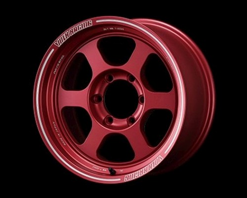 Volk Racing TE37XT Wheel 17x8 6x139.7 0mm Matte Red - WVDTO00KMR