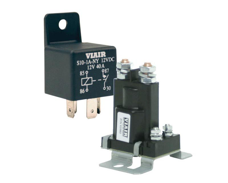 40-amp Relay 12v With Molded Mounting Tab  40a