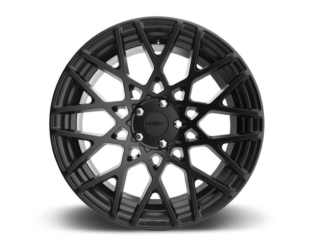 Rotiform BLQ Matte Black Cast Monoblock Wheel 18x8.5 5x120 35mm - R112188521+35