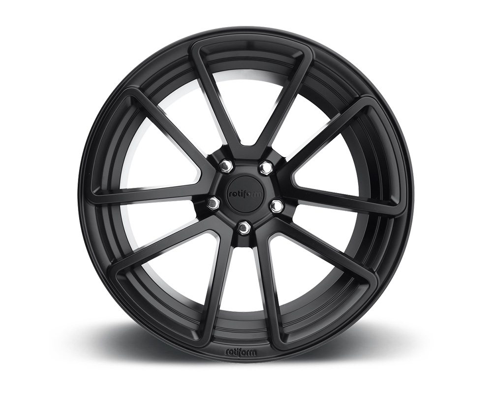 Rotiform SPF Matte Black Cast Monoblock Wheel 19x8.5 5x112 45mm - R122198543+45