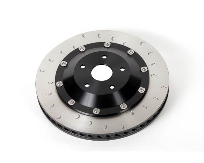 Alcon 385x33mm Left Front Superkit Replacement Rotor & Hat Assembly Nissan GT-R R35 09-18 - DIA2202X013C24L