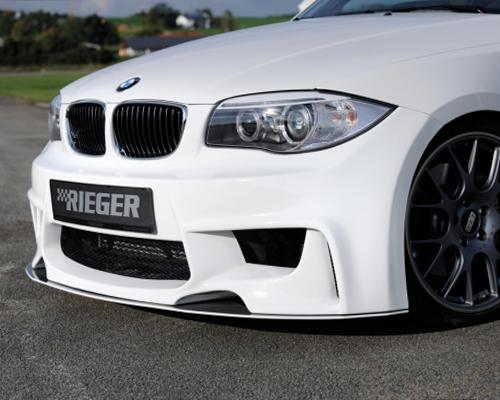 Rieger DTM Splitter (Carbon Look) BMW E82/88 08-13 - R 99130