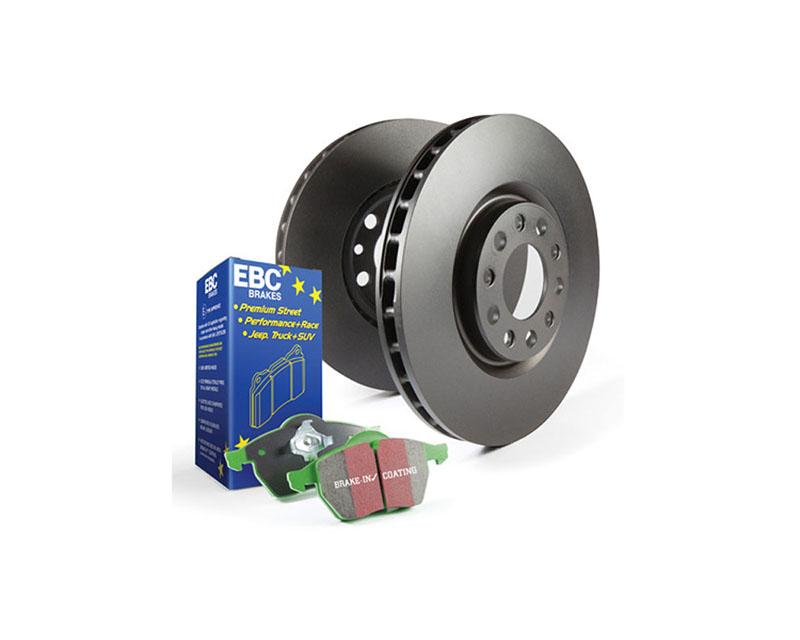 EBC Brakes S14KF Kit Number FRONT Disc Brake Pad and Rotor Kit DP63004+RK7718 Ford E-350 Front 2018 6.8L V10 - S14KF1315