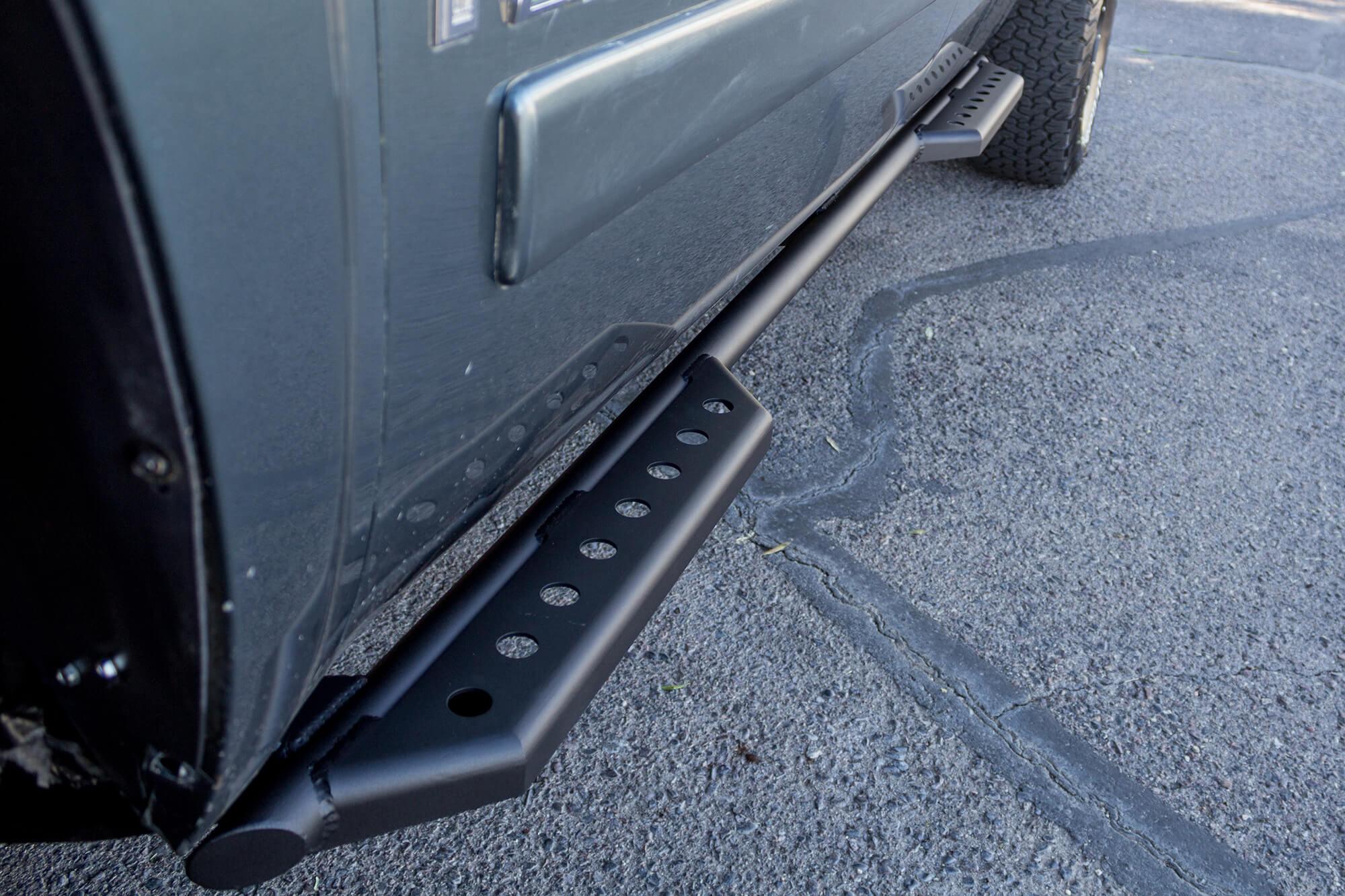 Chevy Silverado Side Steps >> Addictive Desert Design Stealth Side Steps Chevrolet Silverado 1500 4dr 03 16