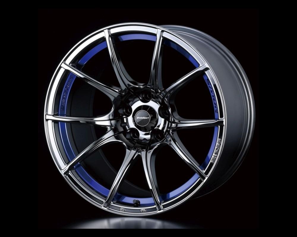 Weds Zebra Black SA-10R Wheel 15x6 4x100 +48mm - SA10R156410048