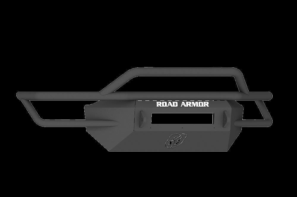 CHEVY 1500 SILVERADO 16-17 Front Sahara Non-Winch Bumper Pre-Runner Guard BLACK Road Armor - SA3164B-NW