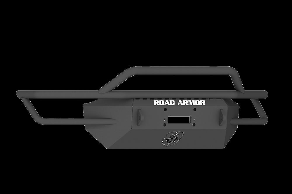 CHEVY 1500 SILVERADO 16-17 Front Sahara Winch Bumper Pre-Runner Guard BLACK Road Armor - SA3164B