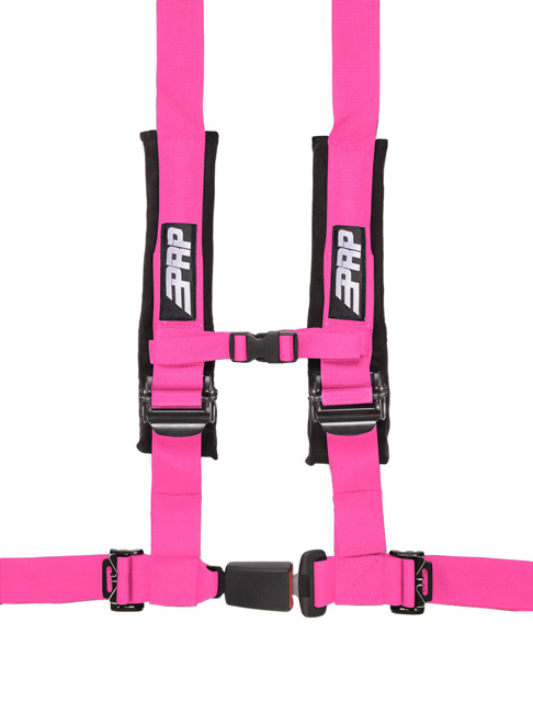 2 Inch 4 Point Harness Pink PRP Seats - SBAuto2P