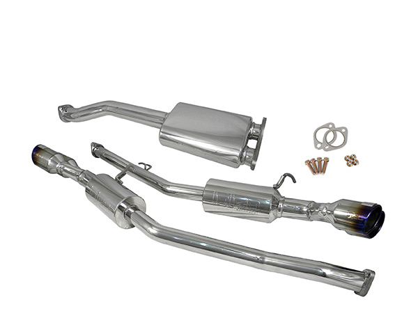 Image of Injen Stainless Steel 60mm Cat Back w Y-pipe Ti Tips Hyundai Genesis Coupe 2.0L 10
