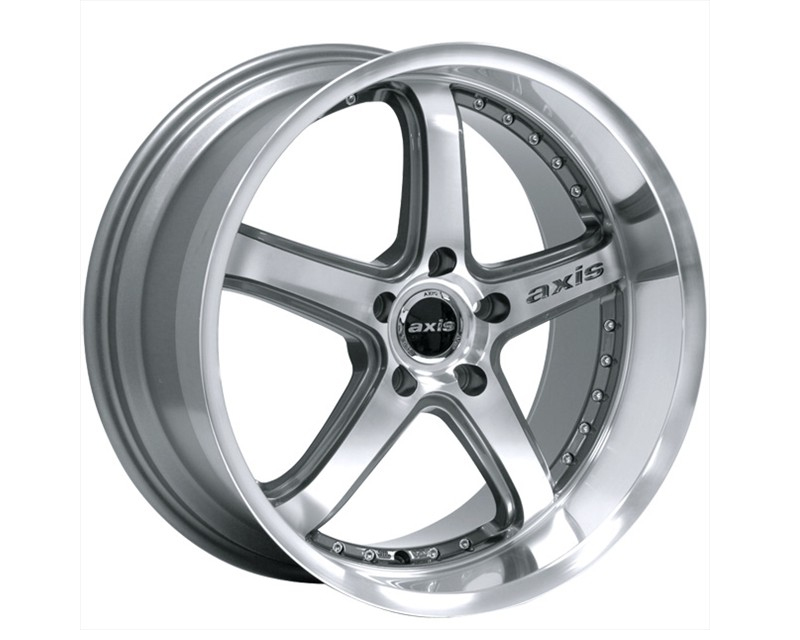 Image of Axis Shine Wheel 19x8.5 5x114.3 15mm Machined wGraphite