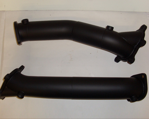 Image of Boost Logic 75mm Downpipe Nissan GT-R R35 09-14