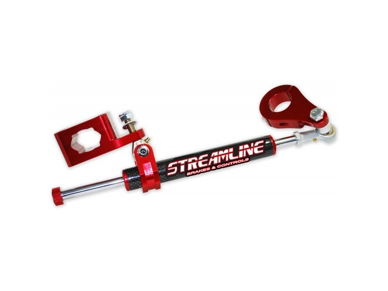 Streamline Industries Inc. 11 Way Adjustable Stabilizer Rebuildable Carbon Series Black Can-Am DS650 00-07 - BTS-CB54-BK