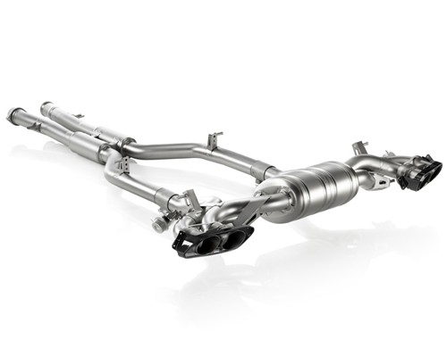Akrapovic Titanium Evolution Exhaust System Mercedes-Benz SLS AMG 11-14