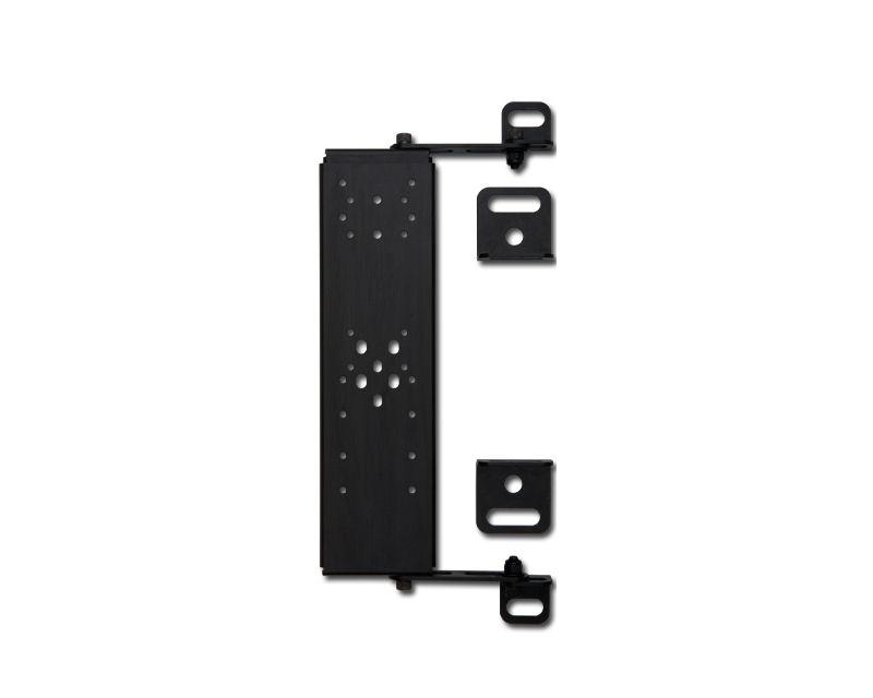 H3R Performance Black Powder Coat Fire Extinguisher Seat Mount - SM01BK