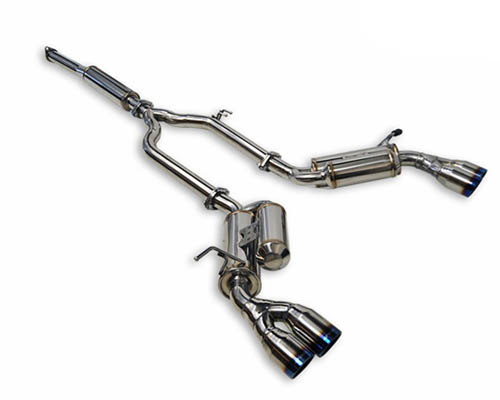 ARK Stainless GRIP Catback Exhaust w/Burnt Tips Hyundai Genesis Coupe 2.0T 10-13 - SM0702-0203G