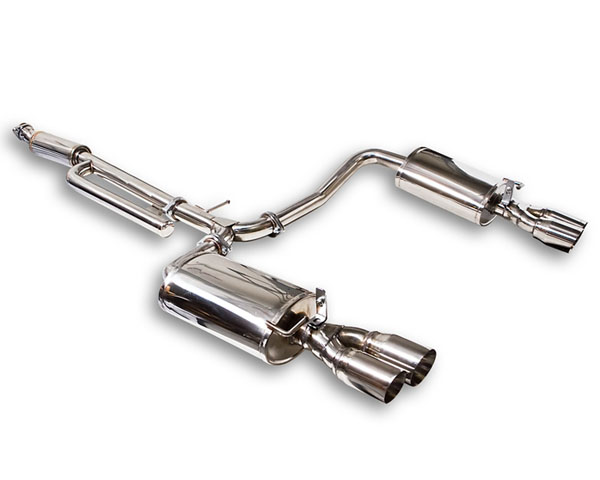 ARK Stainless DT-S Catback Exhaust w/Polished Tips Kia Optima 11-13 - SM0802-0111D