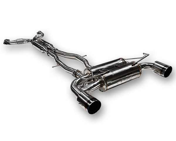 ARK Stainless DT-S Catback Exhaust w/Polished Tips Nissan 370Z 09-14 - SM0901-0109D