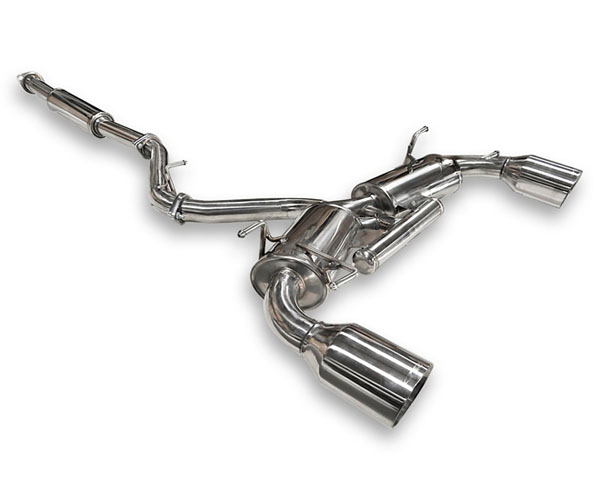 ARK Stainless DT-S Catback Exhaust w/Polished Tips Subaru BRZ 2013 - SM1202-0113D