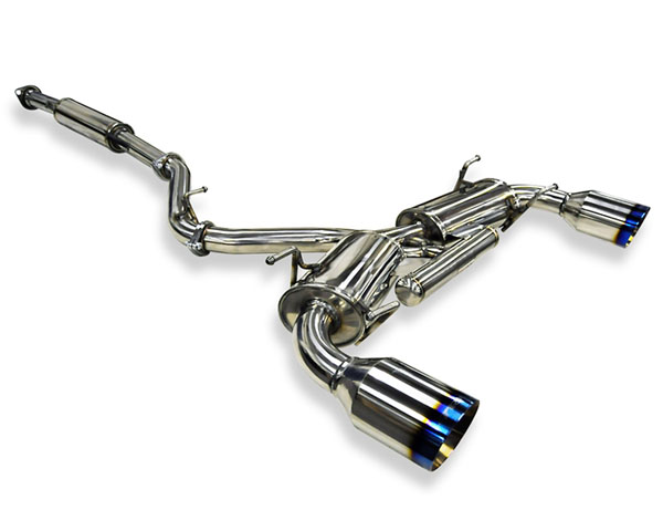 ARK Stainless DT-S Catback Exhaust w/Burnt Tips Toyota GT-86 2013 - SM1202-0213D