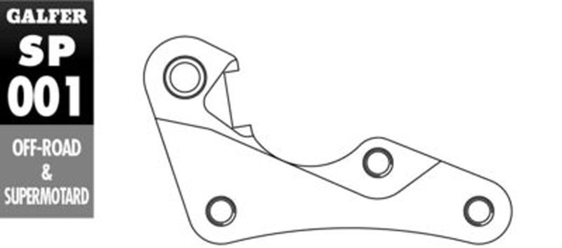 Galfer Bracket HONDA CR 125 R - SP001