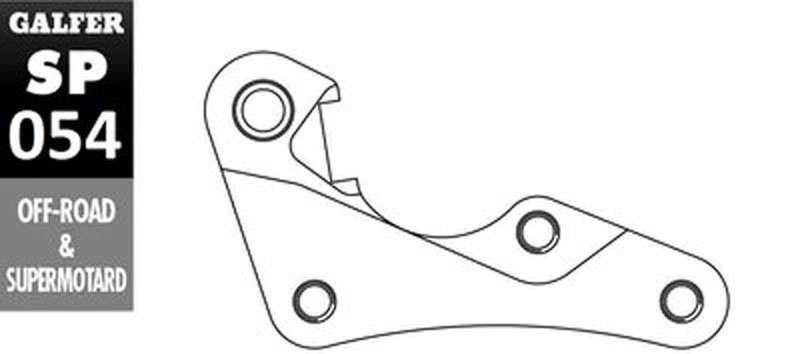 Galfer Bracket HONDA CR 125 R - SP054