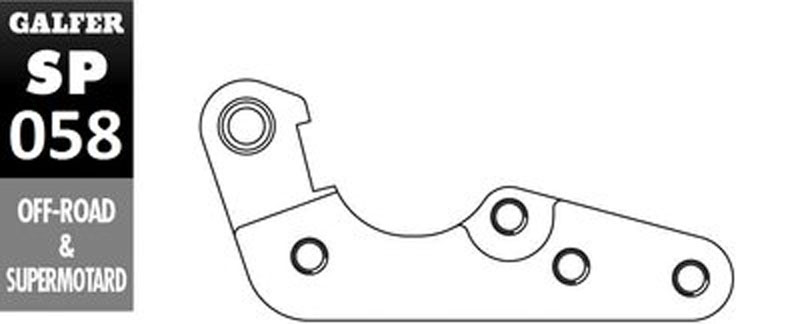 Galfer Bracket HUSQVARNA TC 250 - SP058
