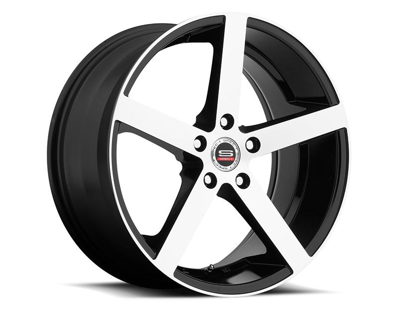 Spec-1 Wheels SP-10 Gloss Black Machined Wheel 20x10 Blank 40mm - SP10S-20104040GBM