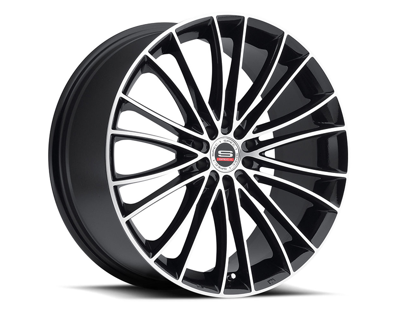Spec-1 Wheels SP-1 Gloss Black Machined Wheel 18x8 5x100 | 5x114.3 38mm - SP1S-18802338GBM