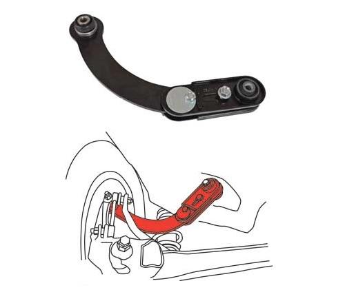 Rear SPC Performance 67455 Adjustable Camber Arm