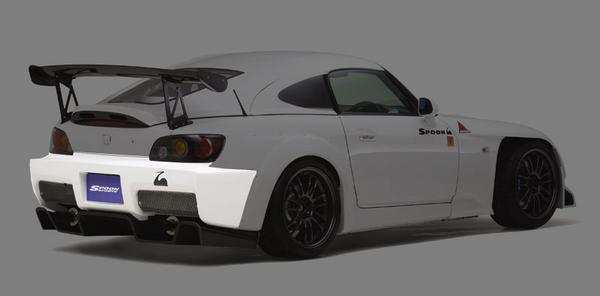 SPOON Sports S-TAI Rear Bumper Honda S2000 00-09 - 71501-AP1-000
