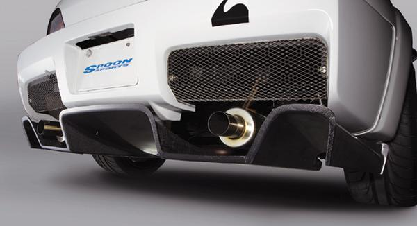 SPOON Sports S-TAI Rear Under Diffuser Honda S2000 00-09 - 71502-AP1-000