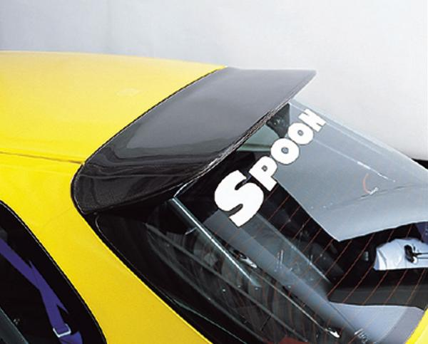 SPOON Sports Roof Spoiler|Hatch Spoiler - Carbon - Honda Civic EK 96-00 - 68800-EKA-000
