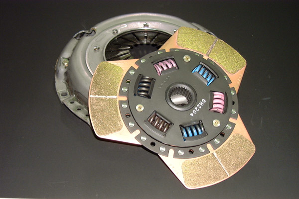 Image of SR Factory 3-Pad Metal Clutch Disc Nissan Skyline Coupe R32 89-94