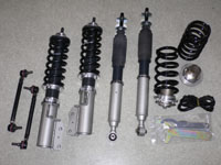 SR Factory Ciel Harmonic Drive Coilovers Honda Fit GD1-3 01-08