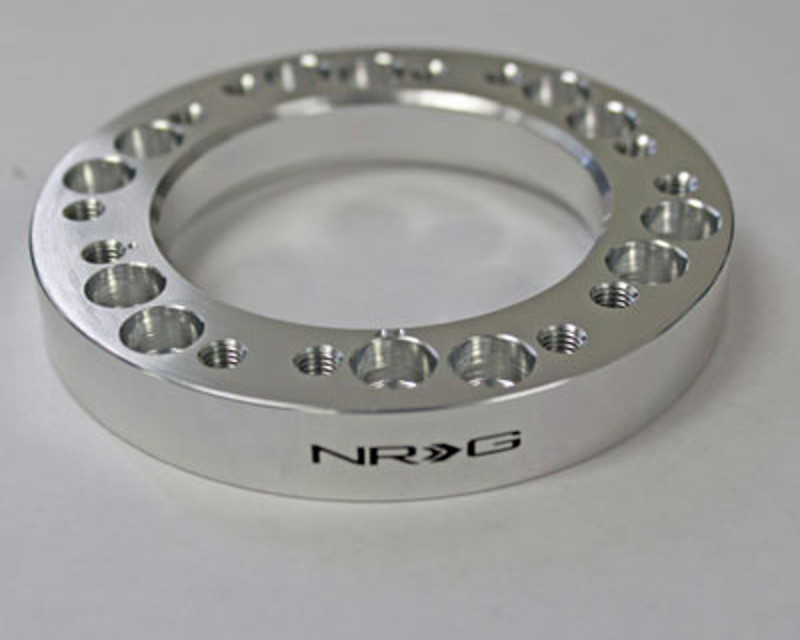 Image of NRG .5inch Silver Hub Spacer Universal