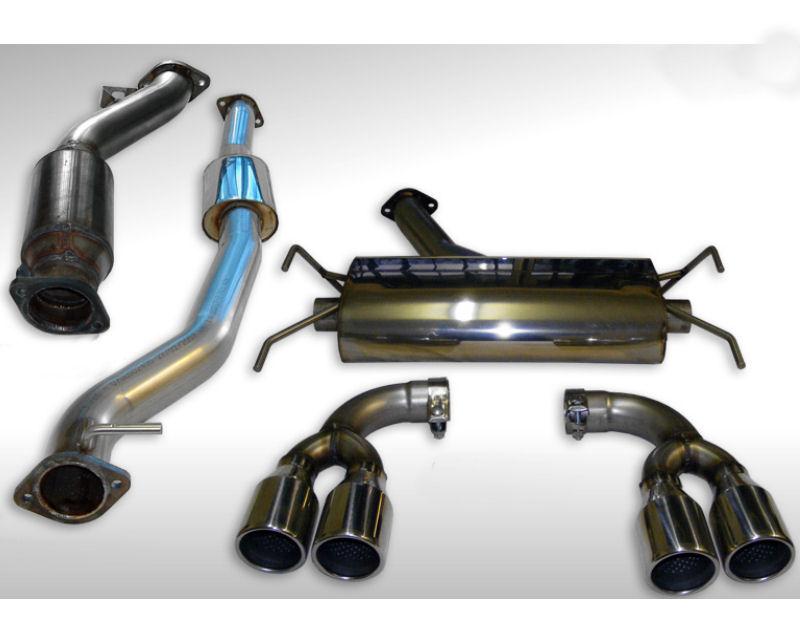 Milltek Turbo-back w/Hi-Flow Sports Cat Subaru Impreza WRX STi Type UK (2.5 Turbo) 08-11 - SSXSB020