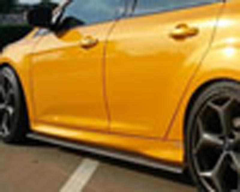 Image of Street Scene Fiberglass Side Skirts Ford Focus ST 2.0L Turbo 13-14