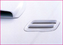 STi Bonnet Vent - Brand Painted Subaru Impreza Sedan GC 93-01 - STI60111530001