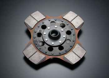 Image of STi 240mm 4-Pad Single Clutch Disc Solid Subaru Impreza WRX Wagon 11-13 WRX STi Wagon 08-13