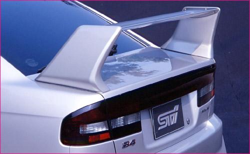 sti rear wing rear spoiler subaru legacy sedan b4 00 04 sti60221410002 sti rear wing rear spoiler subaru legacy sedan b4 00 04
