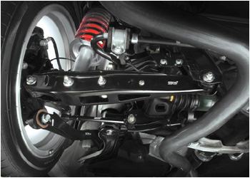 STi Pillowball Rear Suspension Links Subaru Legacy Sedan BM 10-13 - STI602463K0001