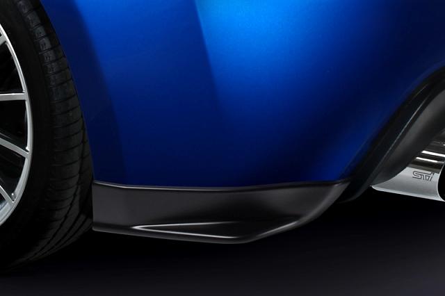 sti rear mud guard rear side spoiler brand painted subaru brz 13 vivid racing