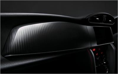 Image of Subaru Genuine Carbon Look Dashboard Panel RHD Only Subaru BRZ 13