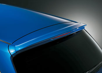 STi Roof Spoiler   Hatch Spoiler 01 Type A Subaru Legacy Touring Wagon BR 10-13 - STI64251432A01